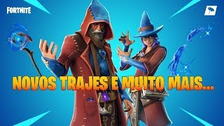 FORTNITE/COSTUMES (SKINS) OF MAGES/GESTURES ABRACADABRA/DAILY ITEMS