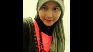 Tutorial Hijab Paris | with Headband | by Didowardah - Part #9