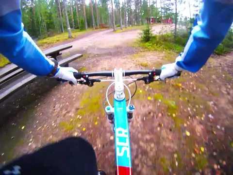 Perttu cooling down at Jämi