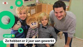 Lennart maakte met zijn gezin een film met handpoppen
