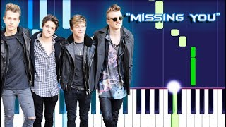 The Vamps - Missing You (Piano Tutorial)