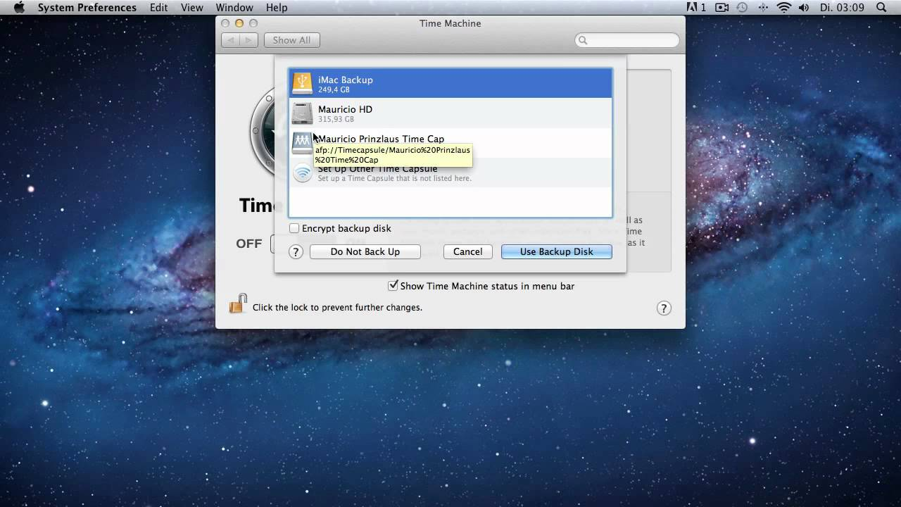 how to delete time machine backups on external hard drive