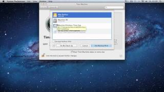 How to use Time Machine to backup to an external hard drive