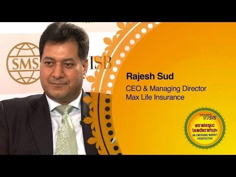 Rajesh Sud, CEO & Managing Director, Max Life Insurance