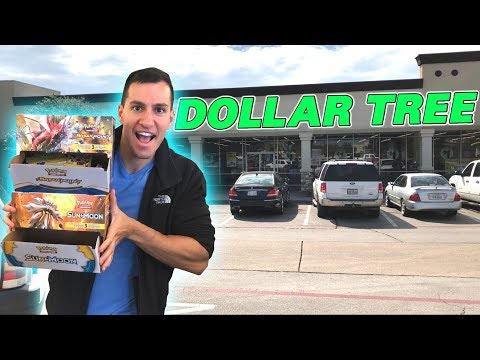 BOUGHT ENTIRE BOXES! - Opening TONS OF DOLLAR TREE POKEMON CARDS PACKS!