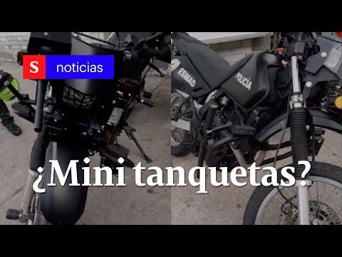 Las 'mini' tanquetas del Esmad de la Policía   Semana Noticias