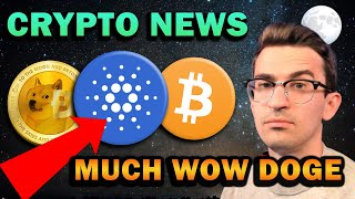 BULLISH CRYPTO NEWS!! China Adoption, DOGE $1, ADA Supply Shock