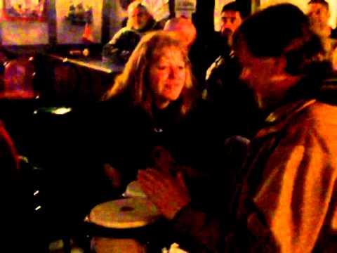 TUDOR ROSE AJAX... Karaoke RILEY STYLE.. Kevin Bongo Boy and his