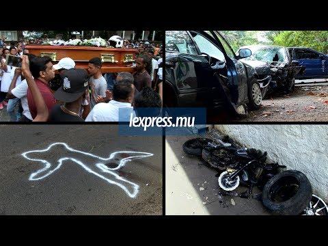 A Mahébourg: funérailles émouvant d'un motard parti trop tôt