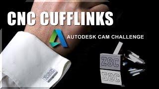 Machining Custom Cufflinks!  WW238