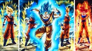 ULTRA FINISH! The AMAZING NEW SSJ Goku & All Of His Transformations! Dragon Ball Z Dokkan Battle