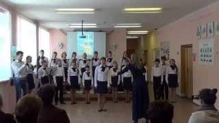Открытый урок по хору.