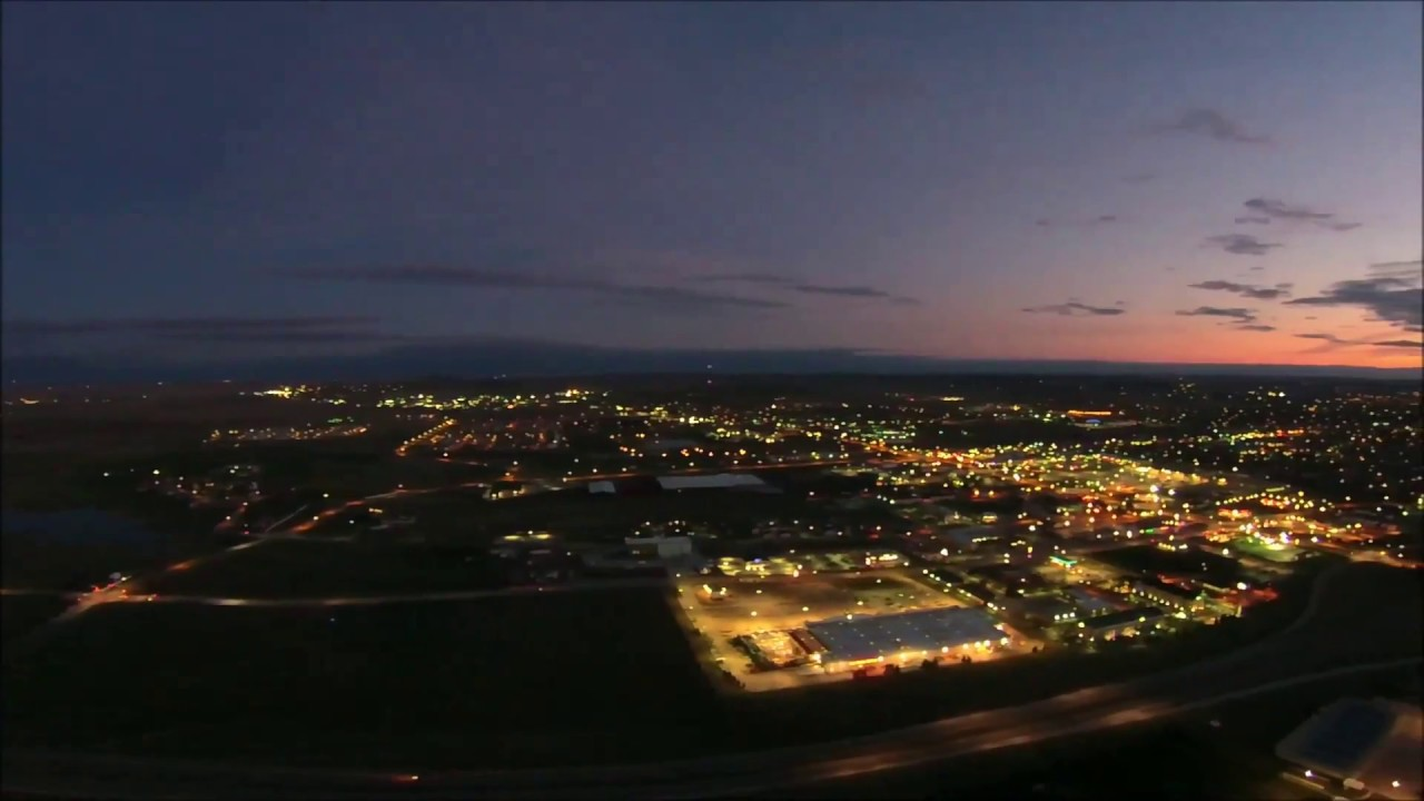 Gillette Wyoming City Lights | Doovi