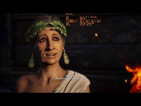 Assassin's Creed Odyssey | Asus ROG Strix GL502 | I7 6700HQ | GTX 1060 (Mobile) 6GB