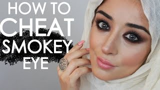 smokey eye tutorial cheat