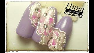 🌸 ЦВЕТЫ на ногтях 🌸 НЕЖНЫЙ дизайн 🌸 ЛЕТНИЙ дизайн ногтей гель лаком 🌸