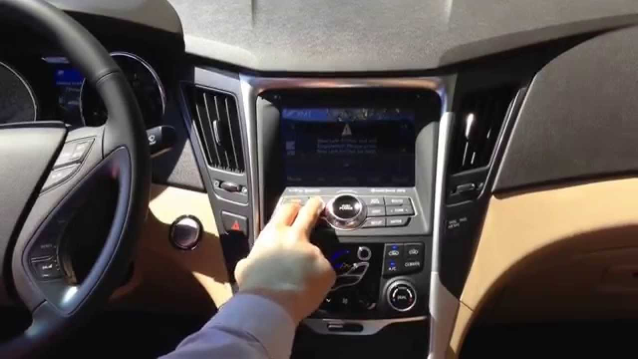 2014 Hyundai Sonata Hybrid Interior Youtube