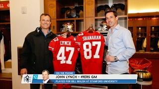 San Francisco 49ers GM John Lynch Talks Taking GM Job & More - 2/21/17