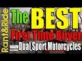 Best Dual Sport ADV Motorcycles for beginners what should you buy?
