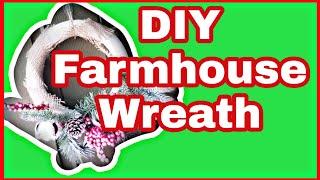 EASY DIY WREATH/DOLLAR TREE + WALMART