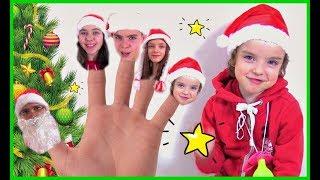 Canción de La Familia Dedo Christmas Family  version  by Makar Song for kids