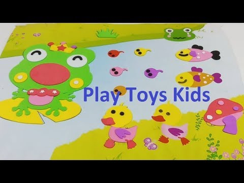 How to The Pond | How to The Lake | Play Toys Kids
