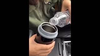 차량용 전기 커피 포트 12V 24V 화물차 시거잭 카…
