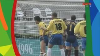 Brasil 5 x 0 Portugal (Atlanta 1996) - ESPN Brasil