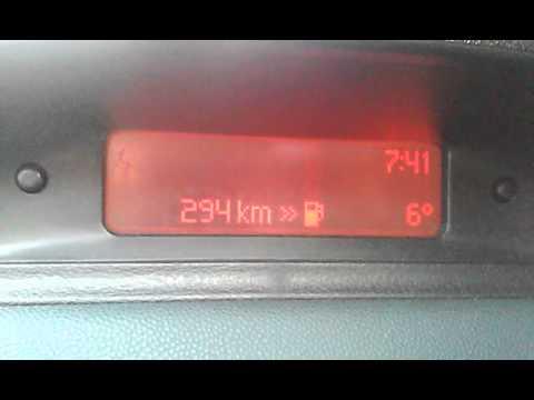 peugeot 307 1,6 16v petrol fuel consumption - youtube