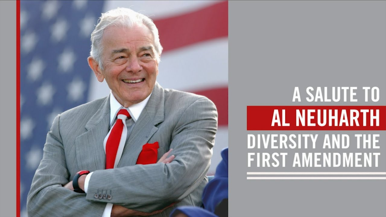 Download A Salute to Al Neuharth, Diversity and the First Amendment