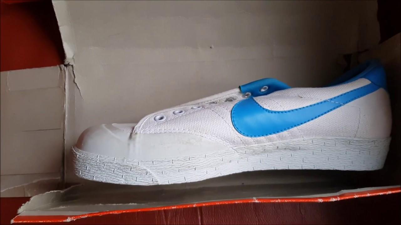 online retailer d9d14 a7e70 Unboxing Unpacking Vintage NIKE Court deadstock Wimbledon colorstyle