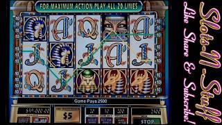IGT Cleopatra 2 big win bonus round full session