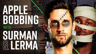 HILARIOUS APPLE BOBBING 🎃 | Jefferson Lerma v Andrew Surman Halloween special! thumbnail
