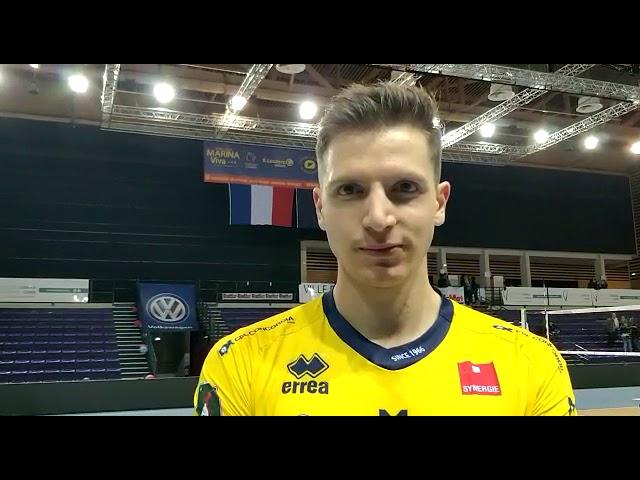 Elia Bossi dopo la vittoria ad Ajaccio