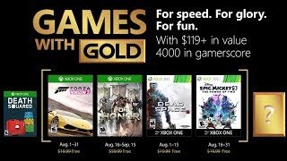 Xbox Games With Gold |