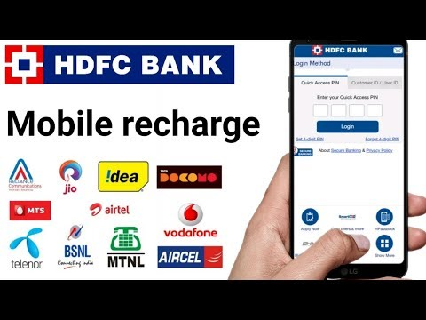 Hdfc Mobile Banking App Mobile Recharge