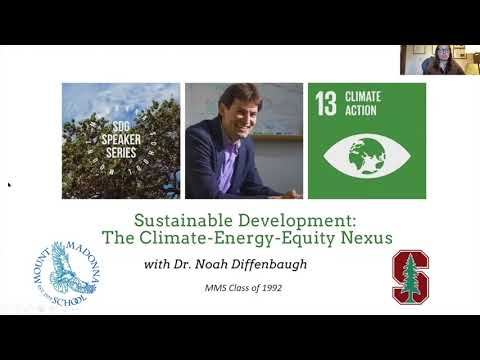 Sustainable Development: The Climate-Energy-Equity Nexus - Video and Resources