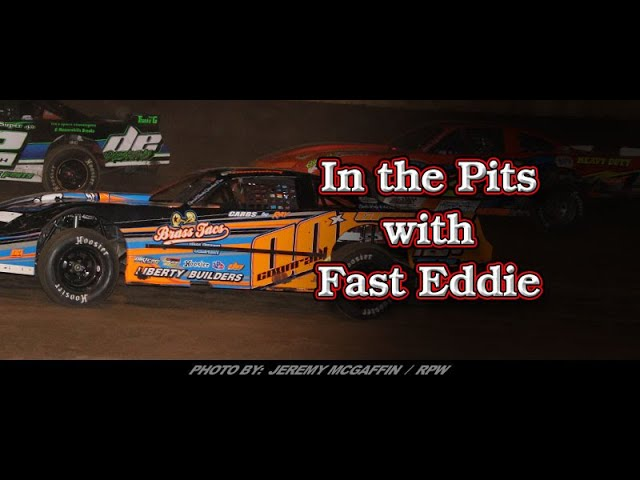In the Pits with Fast Eddie Josh Coonradt