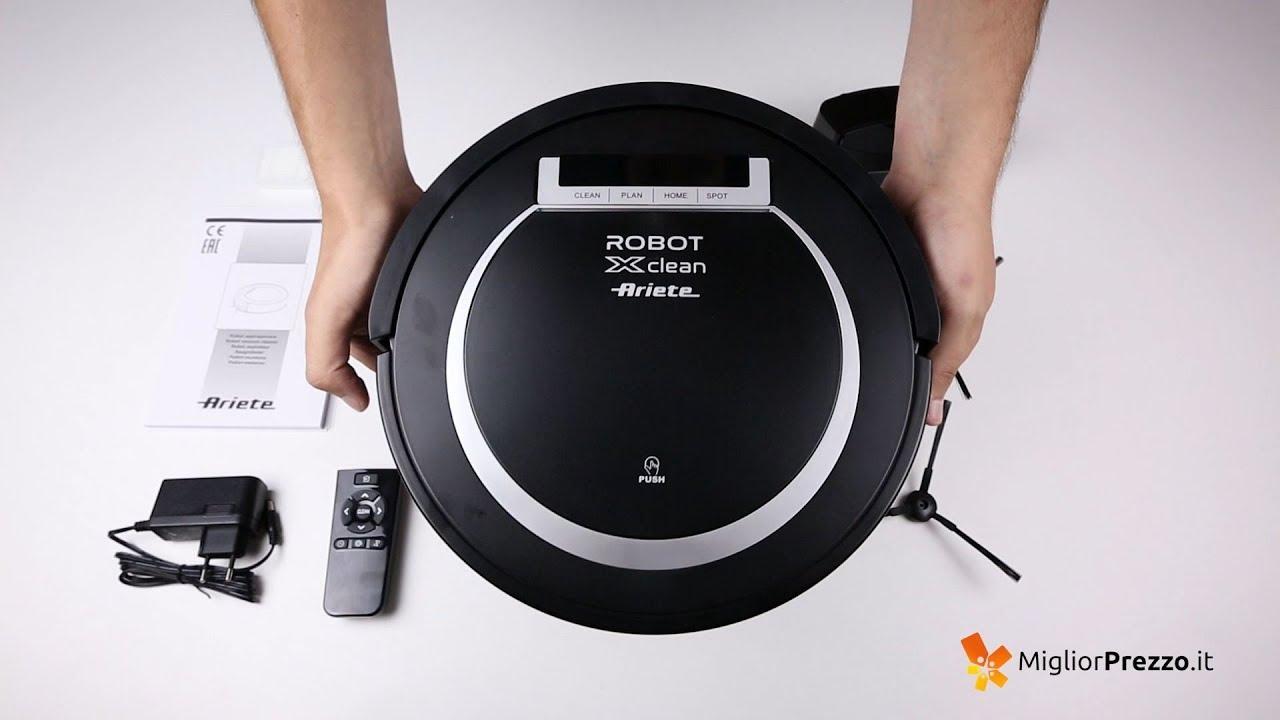 Aspirapolvere Robot Miglior Prezzo.Robot Aspirapolvere Ariete 2718 Xclean Video Recensione Di Migliorprezzo It