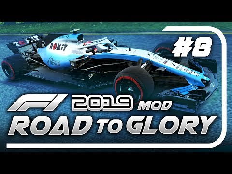 F1 Road to Glory 2019 - Part 8: THE GAME BROKE! OF COURSE IT DID!