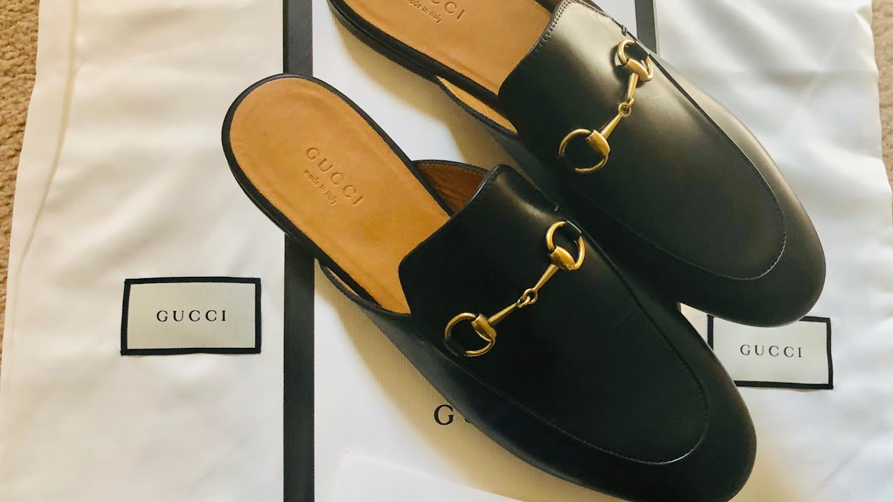 3c1494497ca Gucci Princetown Mules Unboxing - YouTube