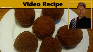 Bitterballen Recipe - Fried Meatballs Dutch Style