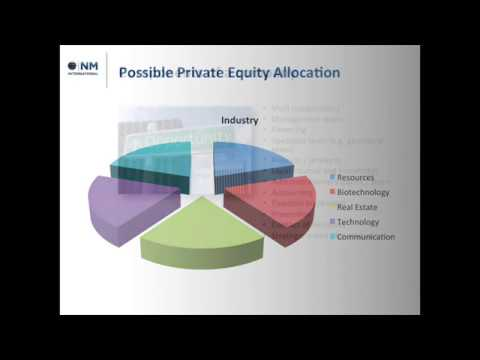 Private Equity Presentation Example - Investing into a gold