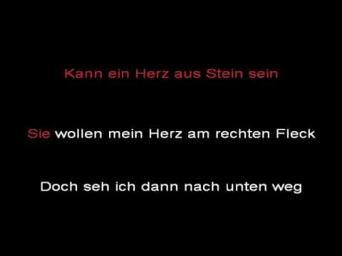 Rammstein - Links 234 (instrumental with lyrics)