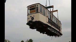 Bahnenthusiast rettet historische Tram vor dem Schrottplatz