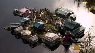 Life on a manmade island