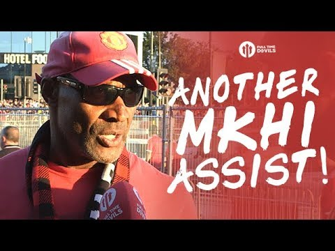 ANOTHER MKHITARYAN ASSIST!!! Manchester United 2-0 Leicester City FANCAMS