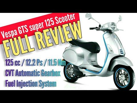 Vespa GTS Super  Scooter | India | Hindi