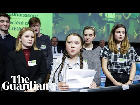 Greta Thunberg to politicians: 'We're fighting for everyone's future'