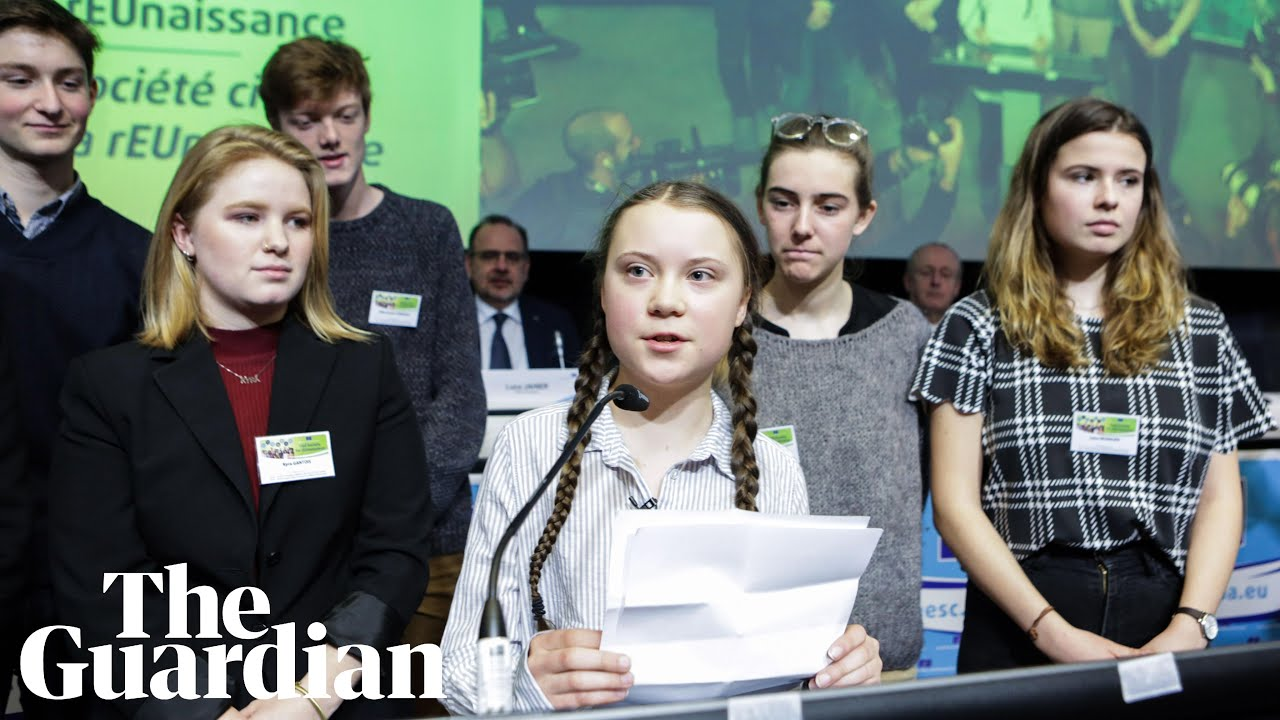Greta Thunberg To Politicians We Re Fighting For